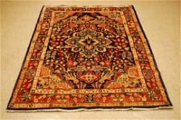 Vintage Great Size Persian Sarouk Rug 4.5x7