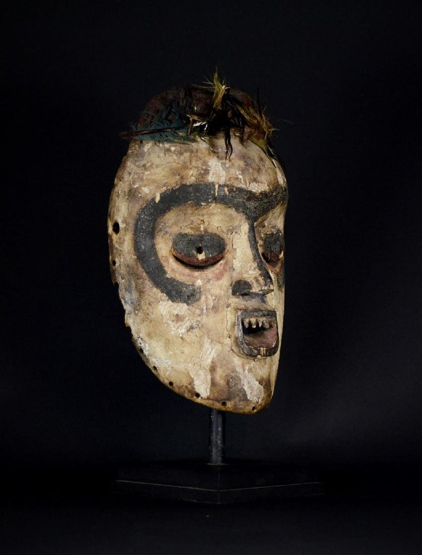 Very Old African Tribal Bembe Mask - 7