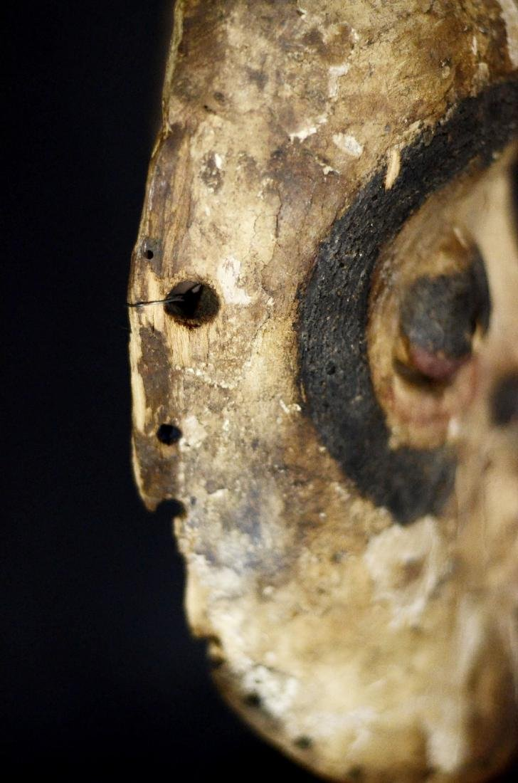 Very Old African Tribal Bembe Mask - 8