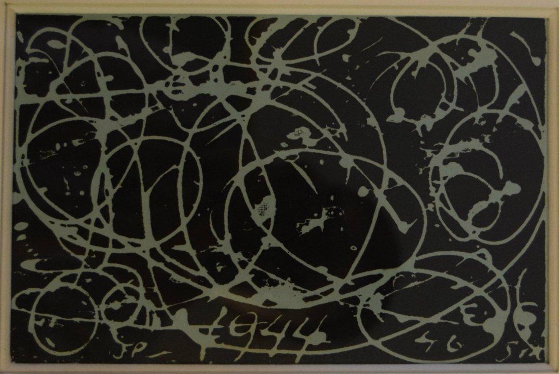 Jackson Pollock - 1944 Greeting Card
