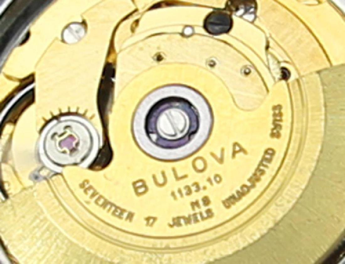 Bulova Mens Vintage 1970s Automatic Day Date Swiss - 8