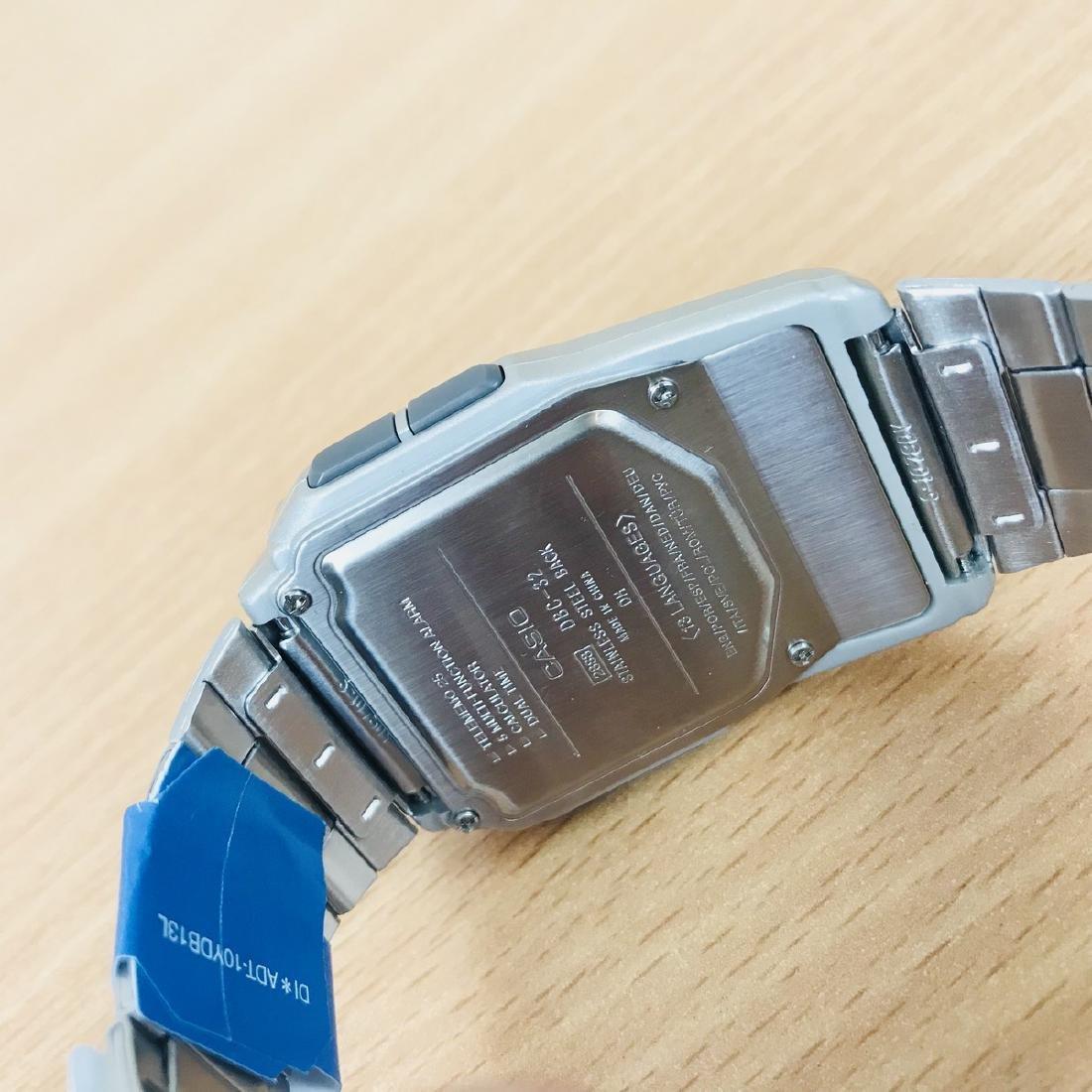 CASIO – Men's Multi-Lingual DATA BANK Watch - 10
