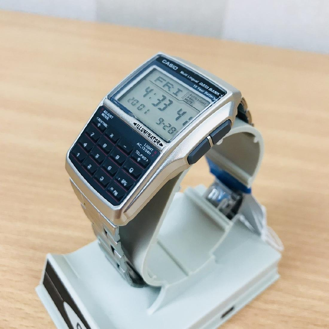 CASIO – Men's Multi-Lingual DATA BANK Watch
