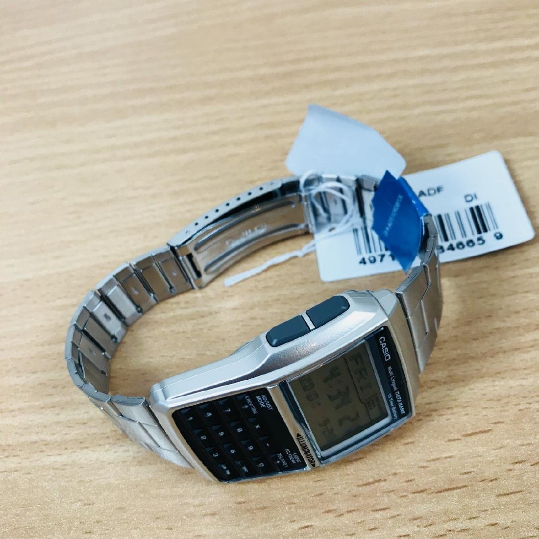 CASIO – Men's Multi-Lingual DATA BANK Watch - 7
