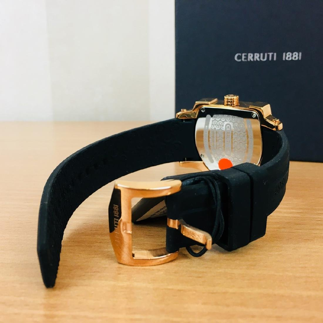 Cerruti 1881 – Men's Swiss Made Gold Plated Luxurious - 5