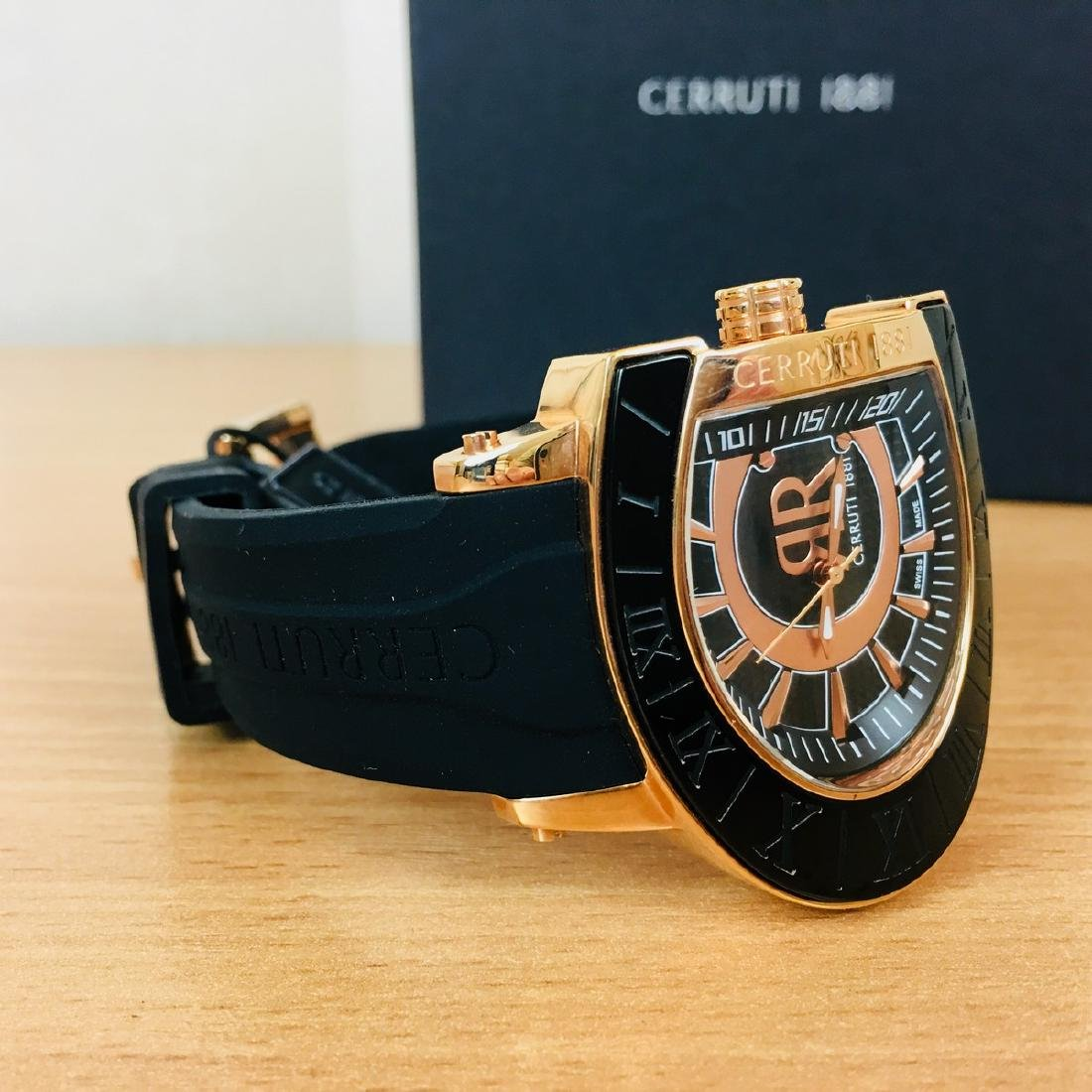 Cerruti 1881 – Men's Swiss Made Gold Plated Luxurious - 6