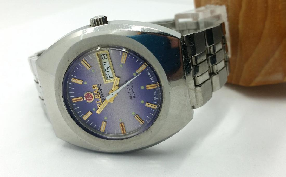 Elpar - Day-date automatic Swiss vintage - Men - - 7