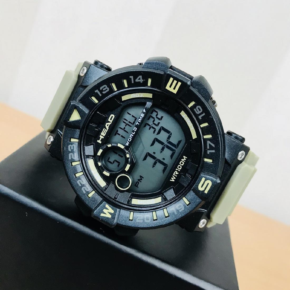HEAD – World Timer Multifunction Watch