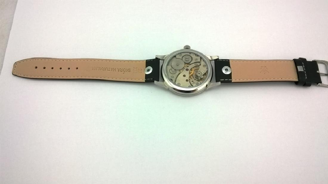 "Molnija ""Freemasonry"" USSR men's mariage watch 1980s - 9"