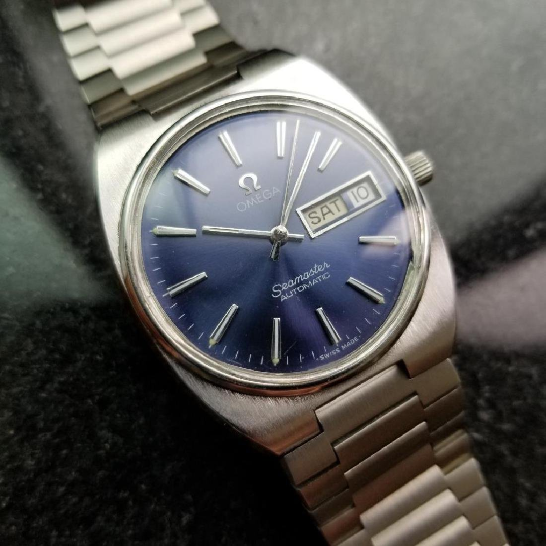 Omega Vintage Seamaster 1970s Swiss 35mm Automatic Mens