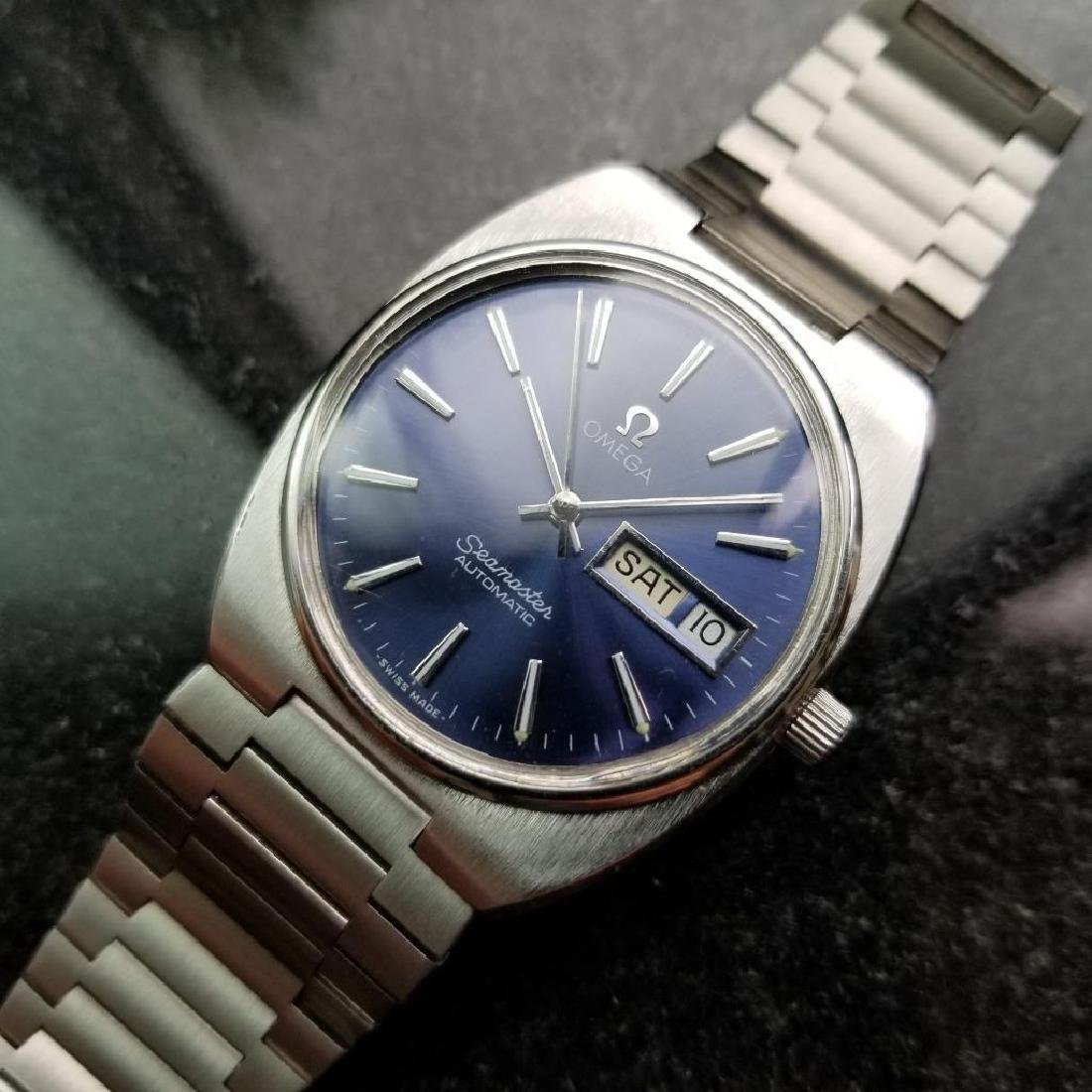 Omega Vintage Seamaster 1970s Swiss 35mm Automatic Mens - 2