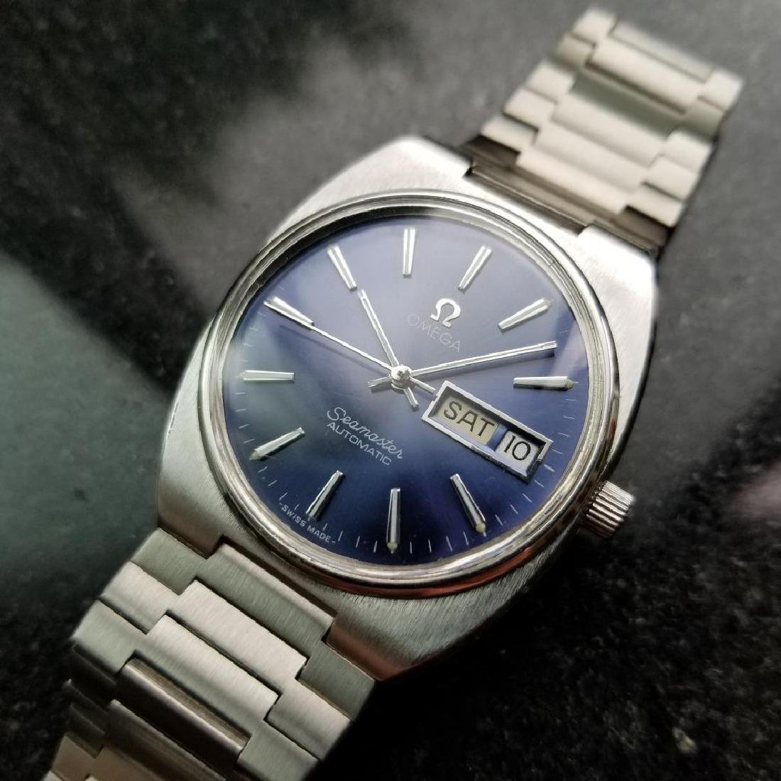 Omega Vintage Seamaster 1970s Swiss 35mm Automatic Mens - 5
