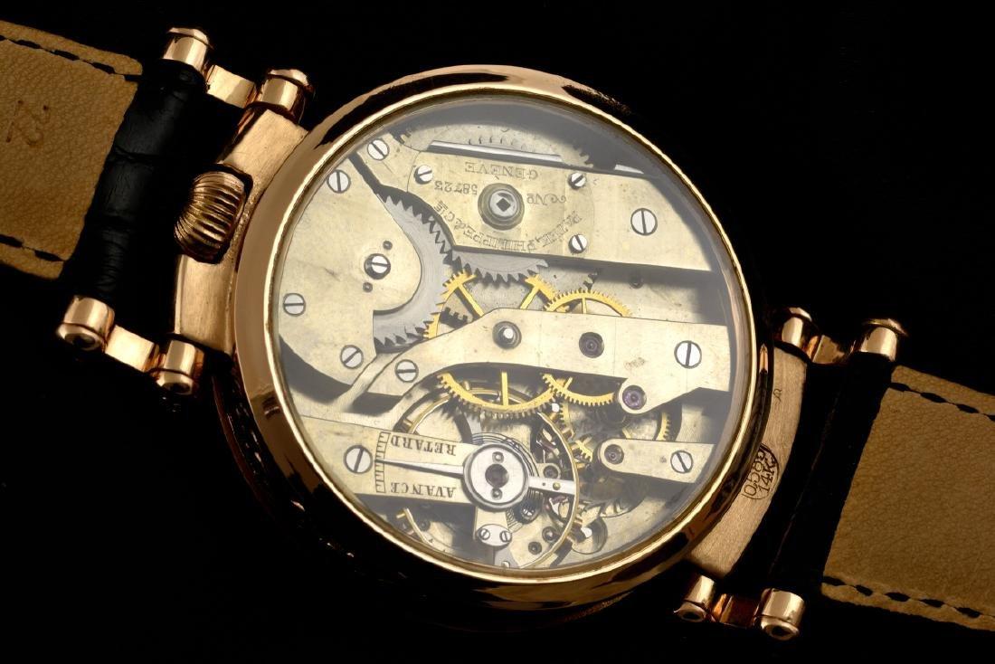 Rare Patek Philippe Gold Hand Engraved - 5
