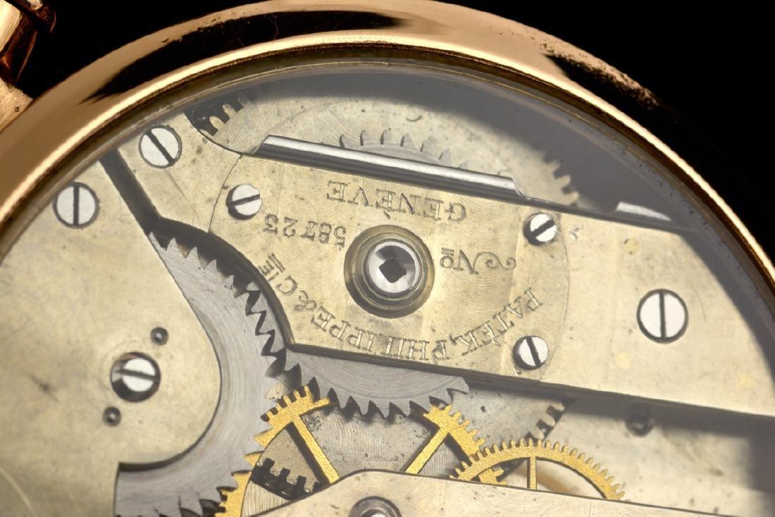 Rare Patek Philippe Gold Hand Engraved - 7