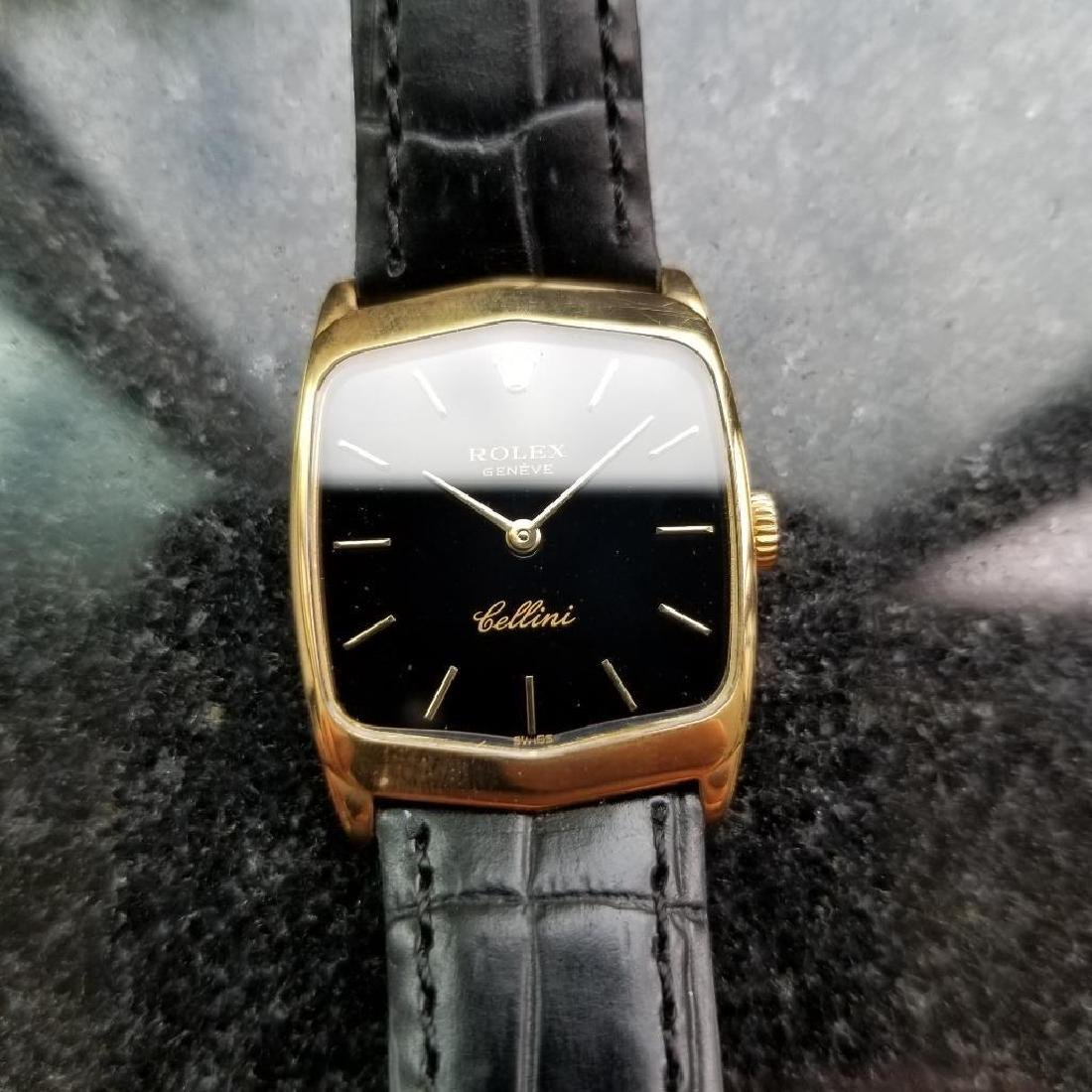 Rolex Cellini 18K Solid Gold 1975 Vintage Swiss Ladies - 2