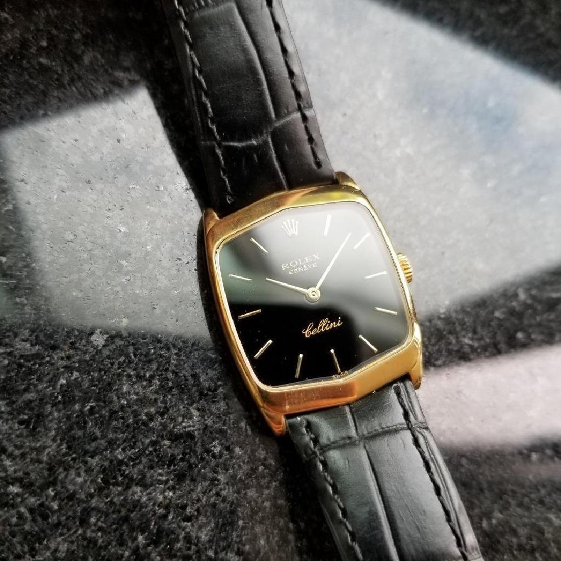 Rolex Cellini 18K Solid Gold 1975 Vintage Swiss Ladies - 3