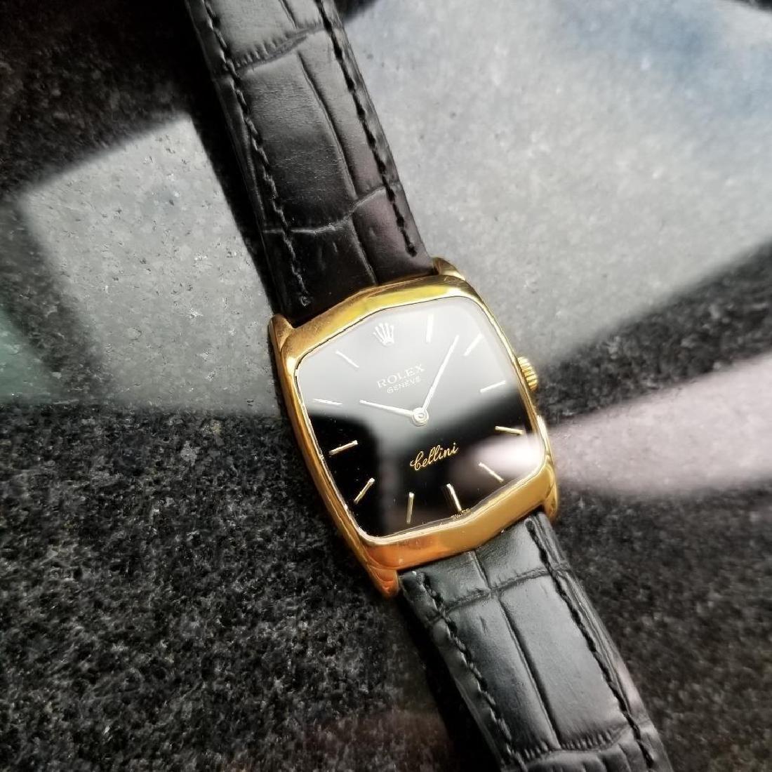 Rolex Cellini 18K Solid Gold 1975 Vintage Swiss Ladies - 4