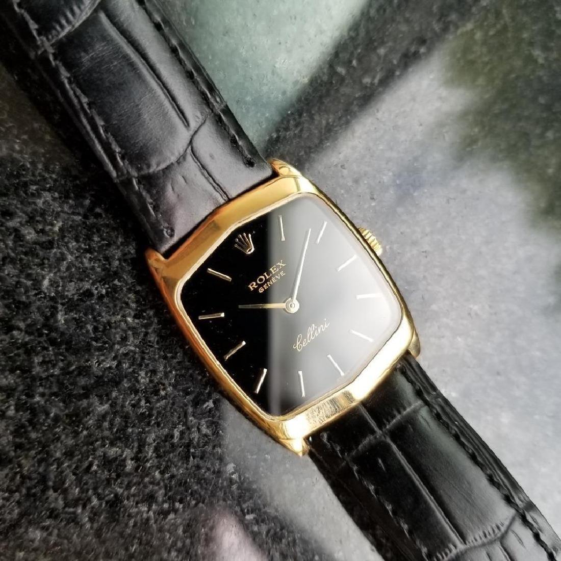 Rolex Cellini 18K Solid Gold 1975 Vintage Swiss Ladies - 5