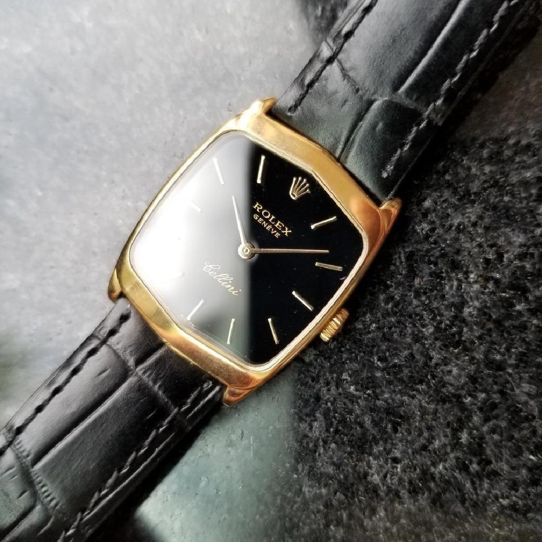 Rolex Cellini 18K Solid Gold 1975 Vintage Swiss Ladies - 6