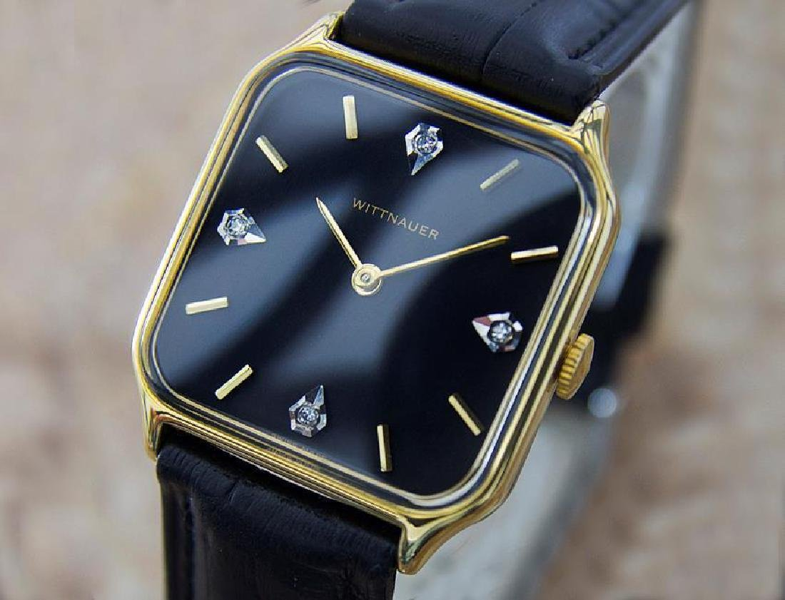 Wittnauer Swiss Made Mens Manual Dress Watch With