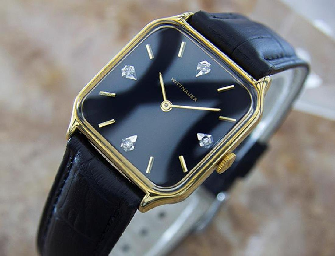 Wittnauer Swiss Made Mens Manual Dress Watch With - 2