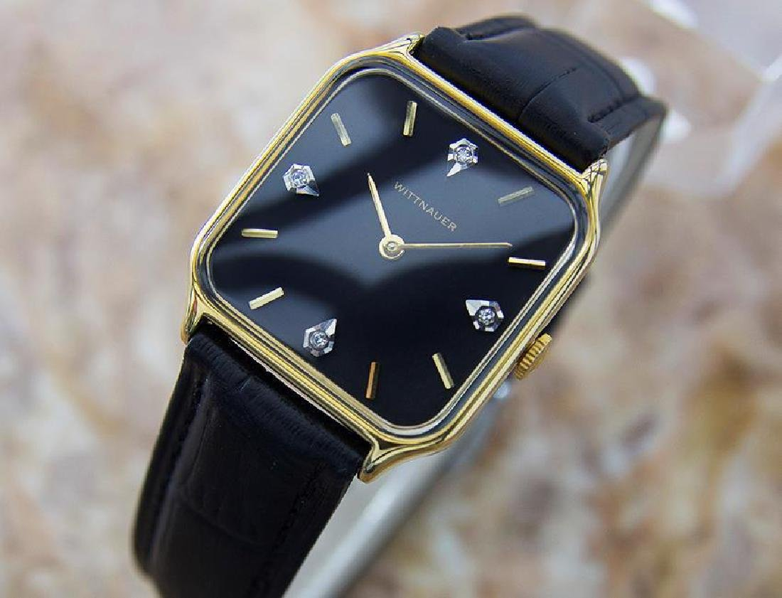 Wittnauer Swiss Made Mens Manual Dress Watch With - 3