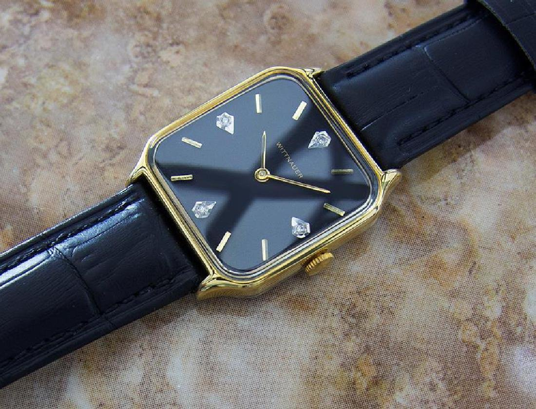 Wittnauer Swiss Made Mens Manual Dress Watch With - 7