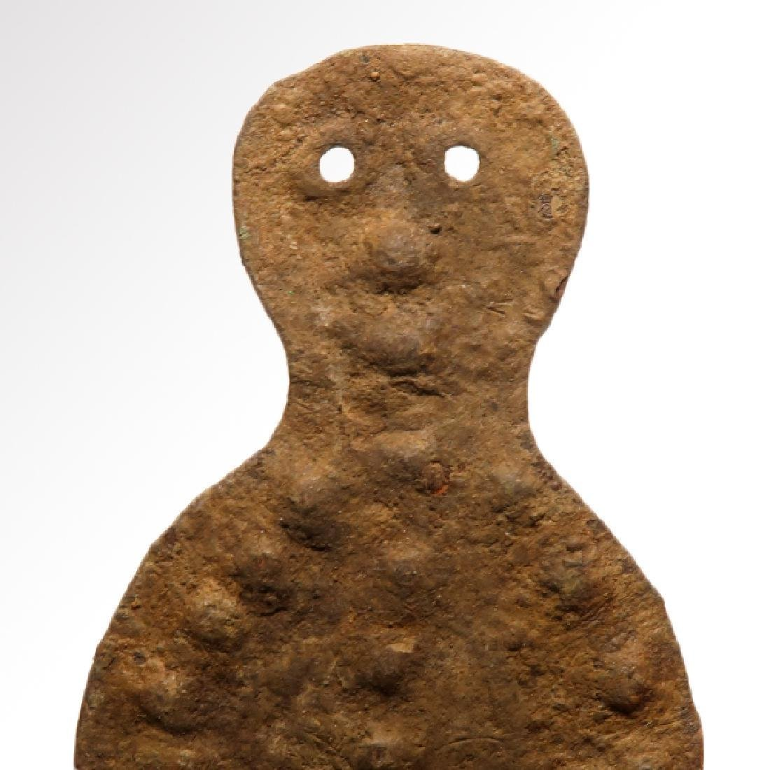 Anatolian Bronze Mother Godess Idol, c. 2500 B.C. - 2