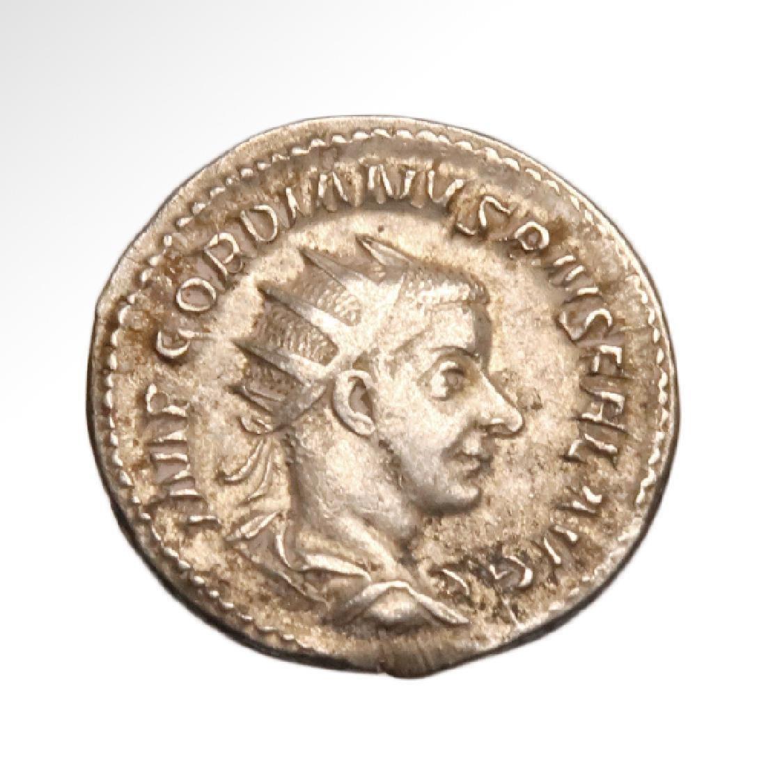 Emperor Gordianus III Coin, Struck A.D. 240-244, Rome