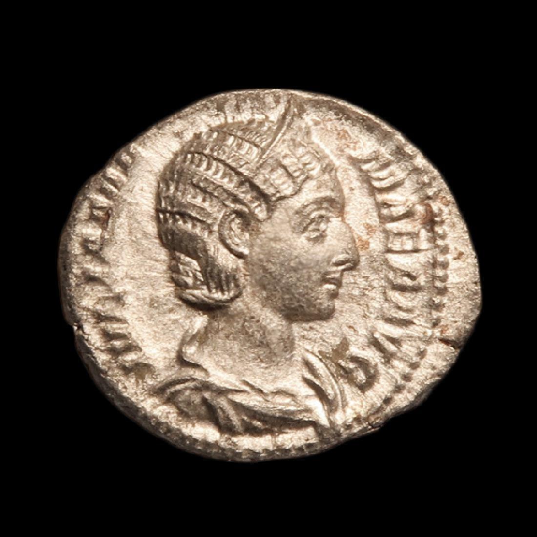 Emperess Julia Maesa SILVER DENARIUS Coin, Struck Rome