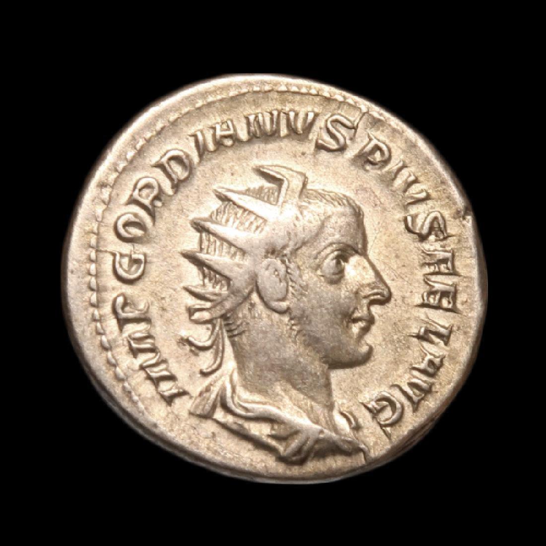 Emperor Gordianus III & Felicity Coin, Struck A.D.