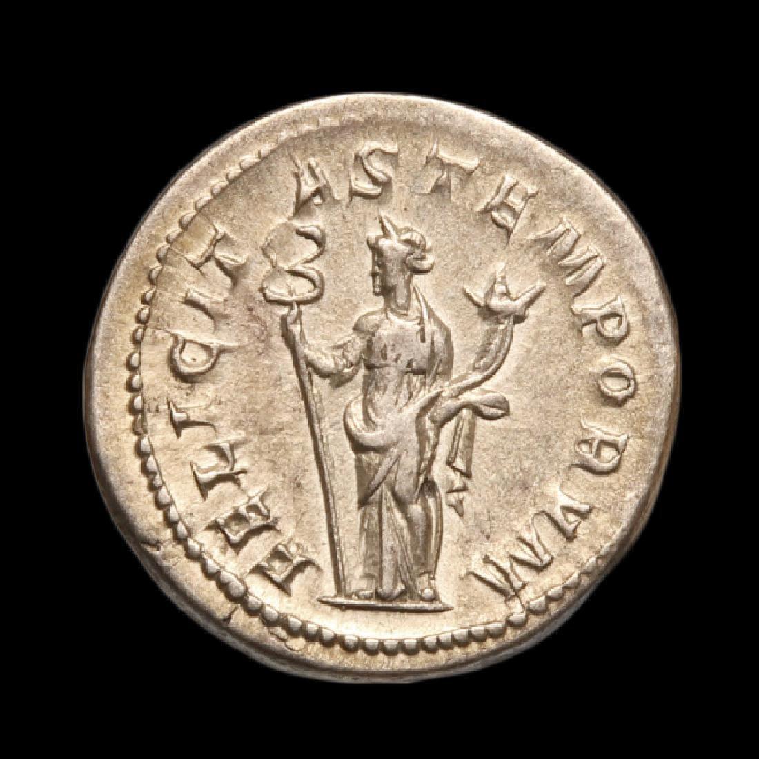 Emperor Gordianus III & Felicity Coin, Struck A.D. - 2