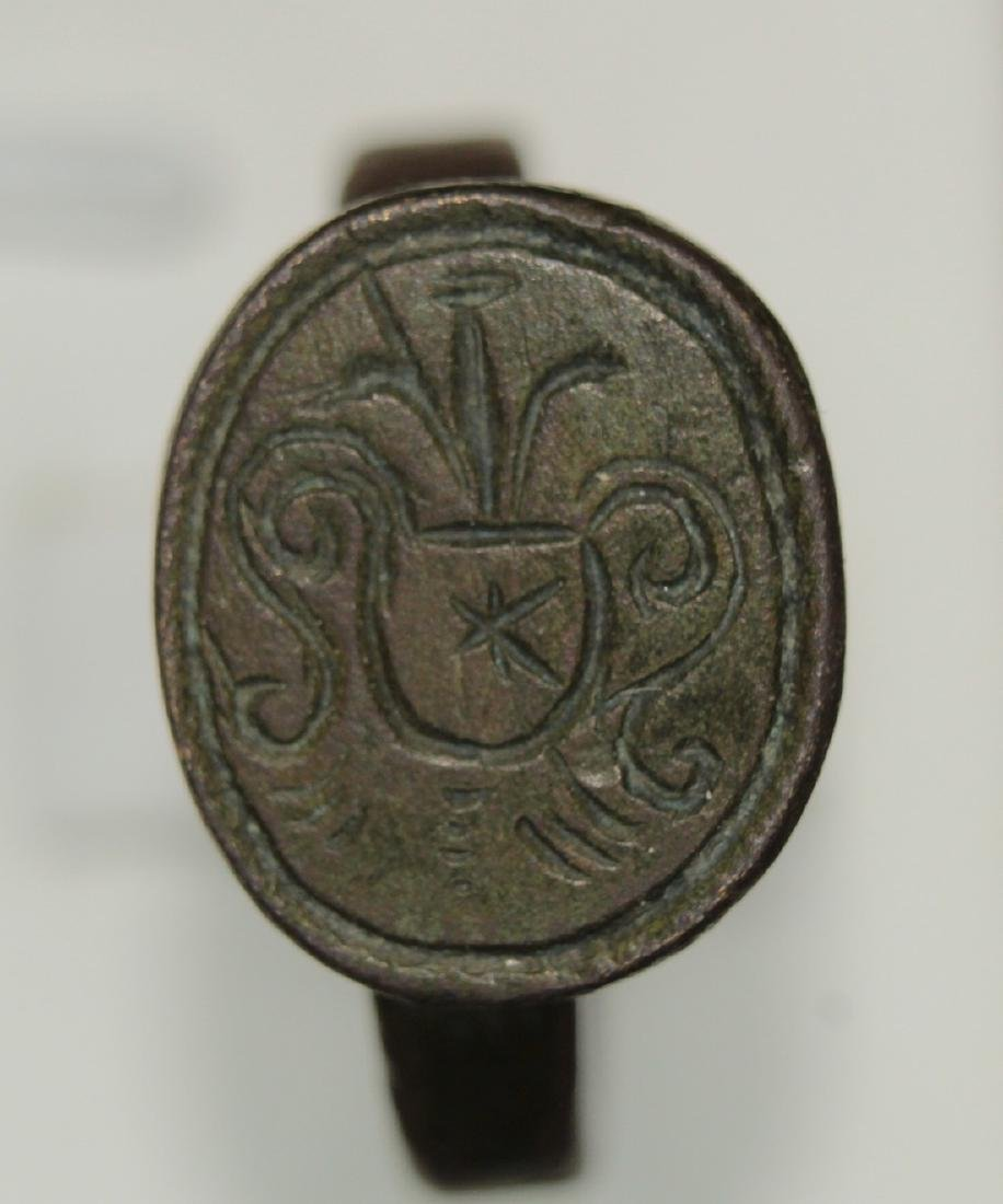 Late Medieval bronze ring