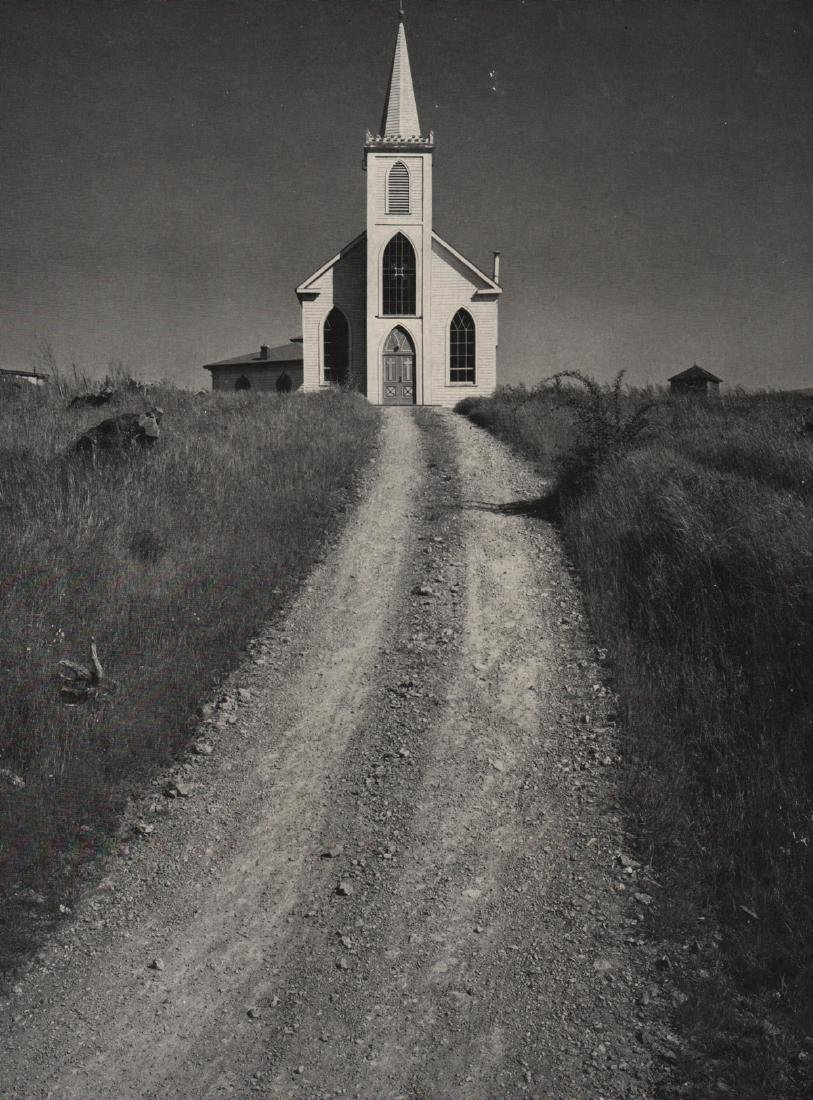 ANSEL ADAMS - Church, Bodega