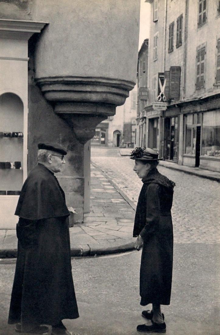 HENRI CARTIER-BRESSON - Small Town in Central France
