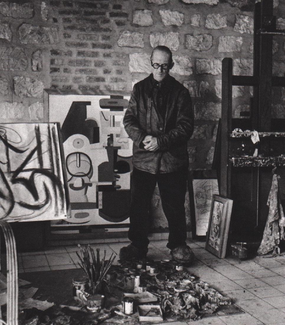 ROBERT DOISNEAU - Le Corbusier, 1944