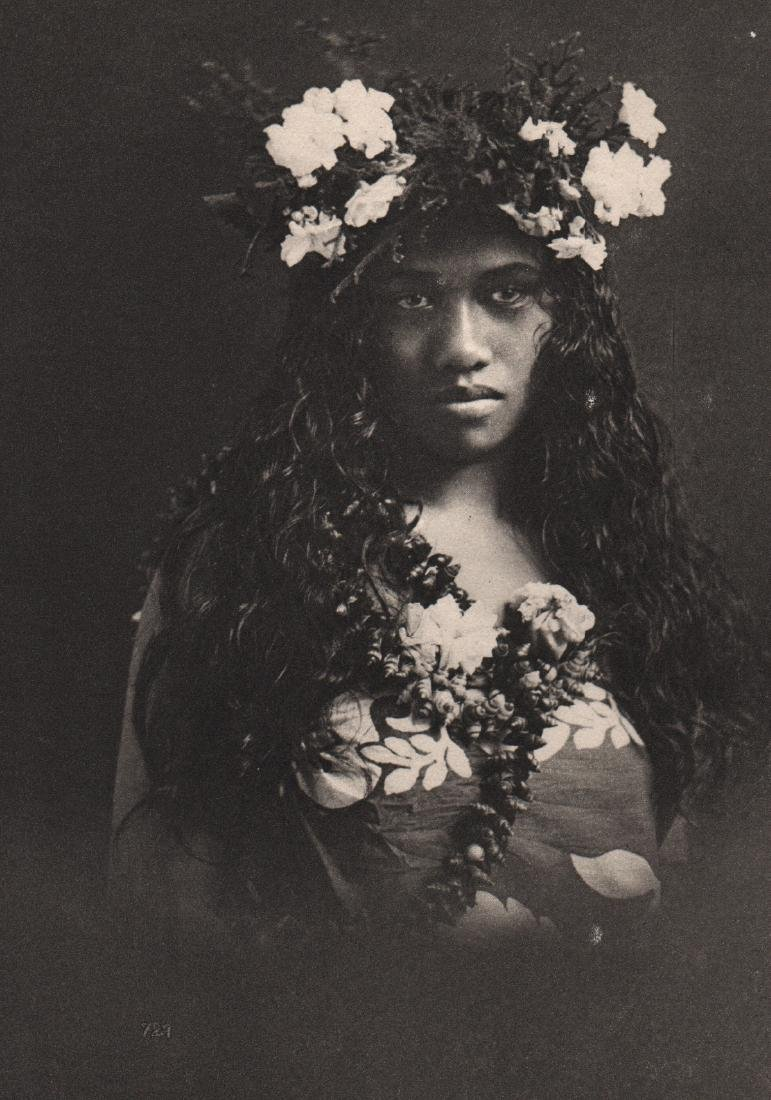 LUCIEN GAUTHIER - Young Woman from Tahiti