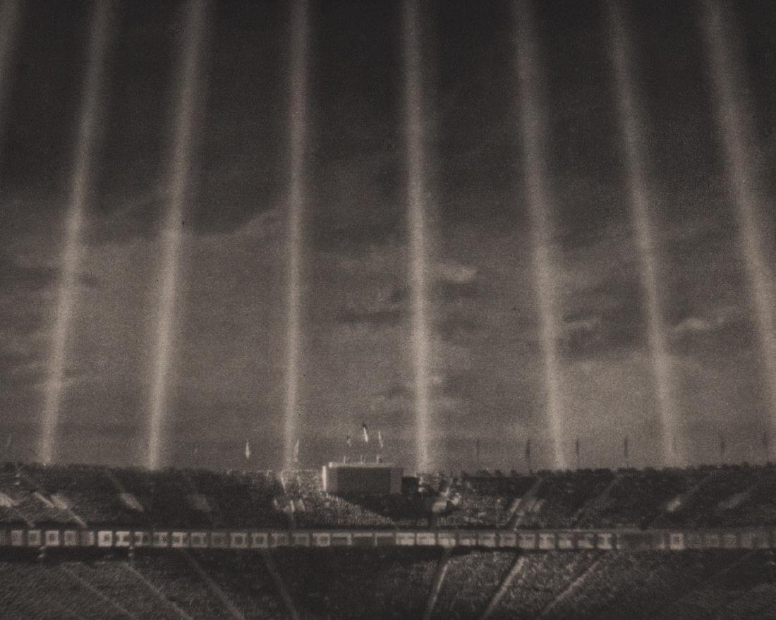 LENI RIEFENSTAHL - The Light-dome over the Stadium