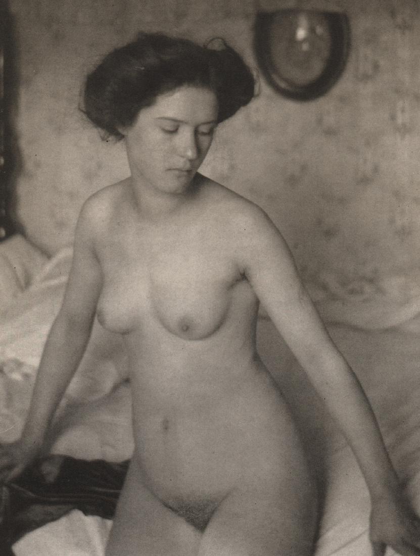 ALFRED STIEGLITZ & CLARENCE H. WHITE - Nude