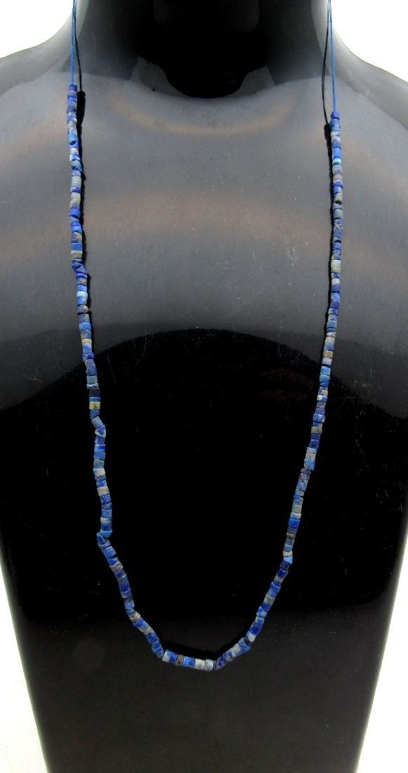 Ancient Roman Lapis Lazuli Beaded Necklace