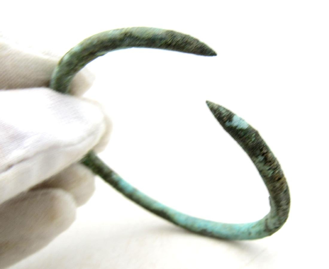 Medieval Viking Era Bronze Bracelet - 3