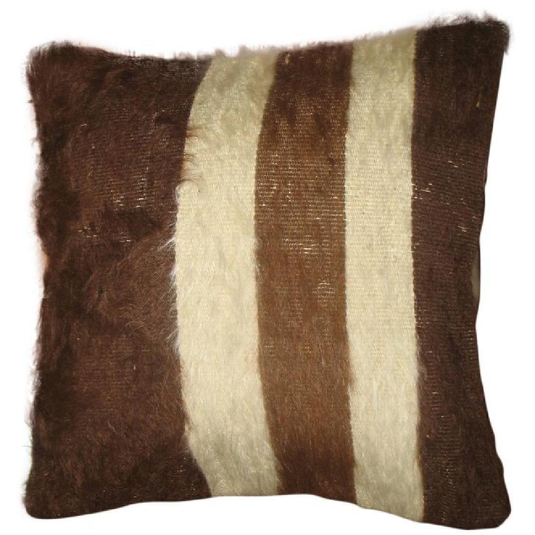 Striped Mohair Pillow