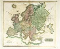 Thomson: Grand Atlas Map of Europe