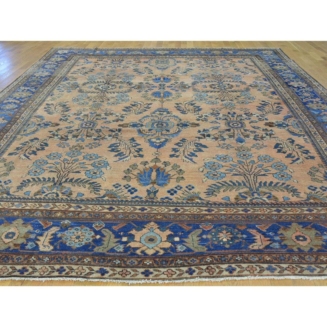 Antique Persian Mahal Exc Cond Hand Knotted Oriental - 2
