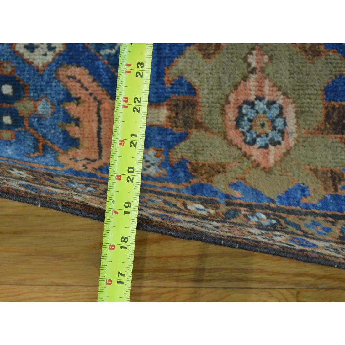 Antique Persian Mahal Exc Cond Hand Knotted Oriental - 3