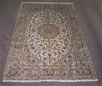 Quite Fascinating Semi Antique Persian Kashan 6.5x9.8