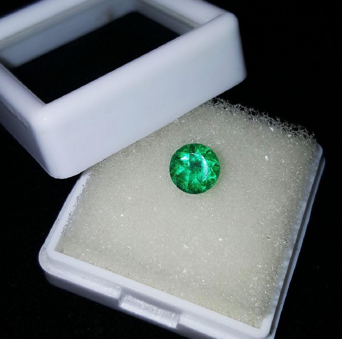 1.27 Ct Natural Untreated Green Garnet Demantoid
