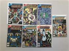Lot of 7 Crisis on Infinite Earths (1985) #3 4 5 6 9 10