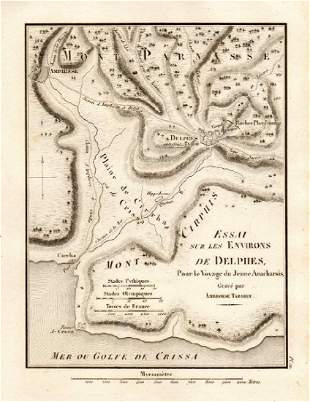 ANCIENT DELPHI environs Environs de Delphes Greece