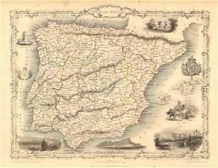 SPAIN PORTUGAL Madrid Lisbon Gibraltar views Iberia